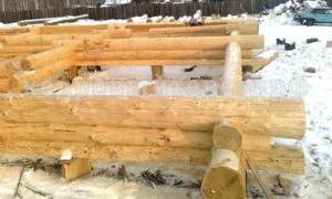 строительство срубов