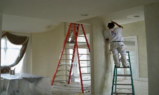 Как красить бетонные поверхности
